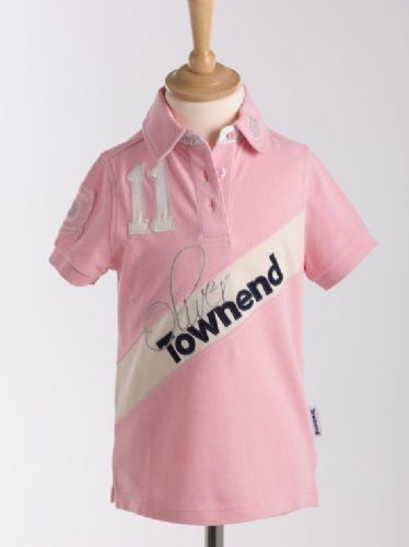 Oliver Townend Flint Limited Edition Polo Shirt in Sweet Pink